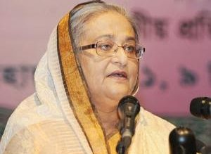 رئيسة وزراء بنغلاديش الشيخة حسينة